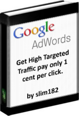 Product picture Advertise with Google Adwords 1 Cent per Click